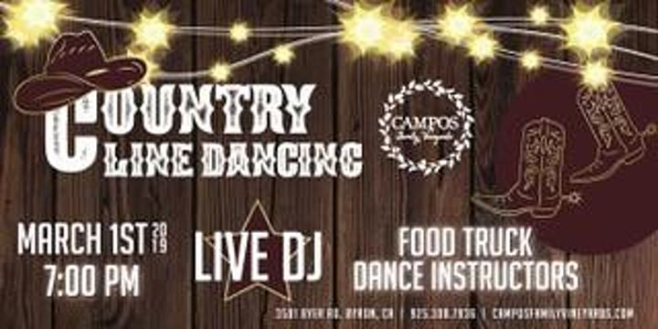 Country Line Dancing Night - Harvest Time in Brentwood