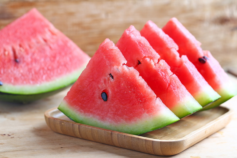 Picking the best watermelon