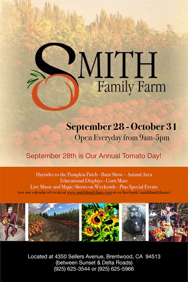 Smiths Family Farm Fall Flyer