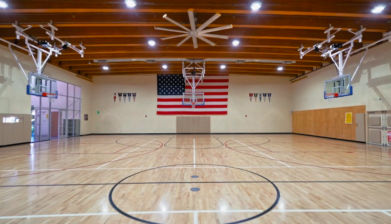 Delta Valley Health Club - Basketball Court
