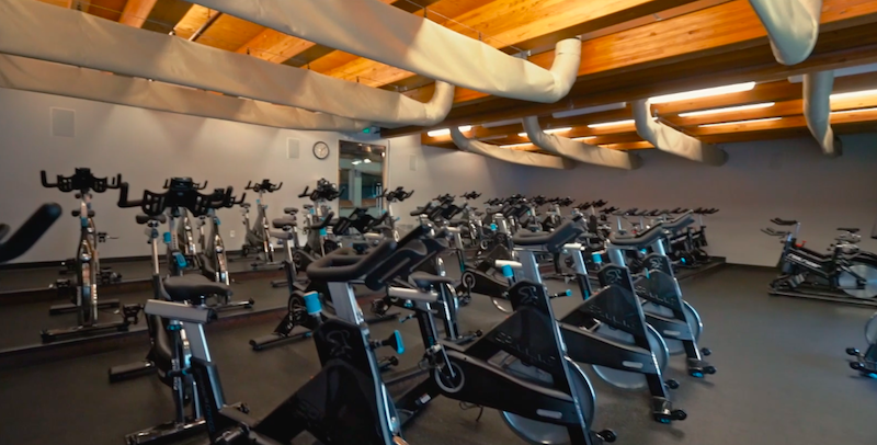 Delta Valley Health Club - Cycle Room