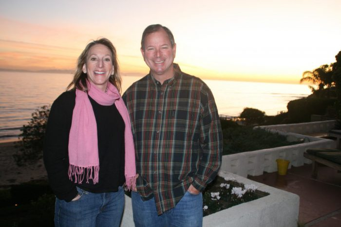 Meredith Nunn with Stan Nunn