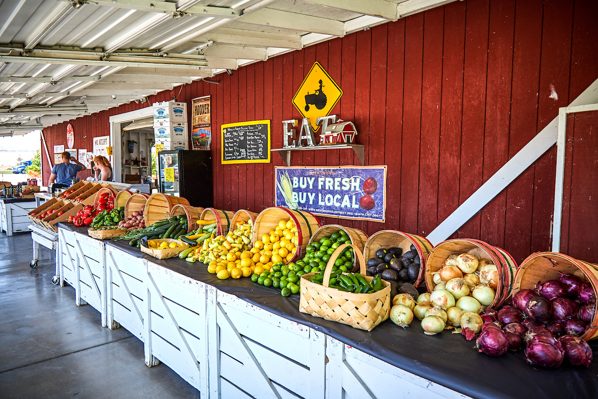The Farmer's Daughter Produce Stand